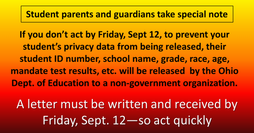 Sept 12 notice 500