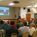 Sheriff Plummer at Sept SMCLG meeting