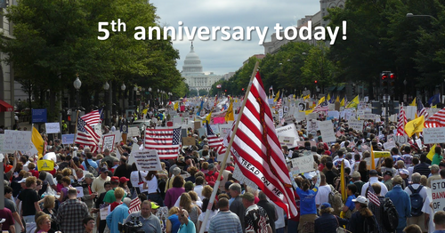 TEA Party Movement 5th anniversary today
