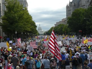 Washington DC TEA Party Rally public domain