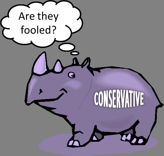 Purple rhino conservative