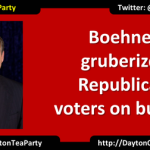 Boehner gruberizes Republican voters on budget