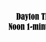 DTP Noon 1-minute update banner