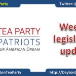 TPP Weekly legislative update