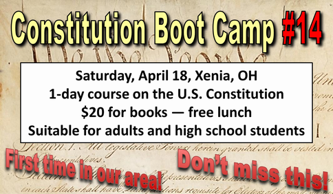 Constitution Boot Camp 14