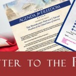 Open Letter to President Trump Promotes Freedom