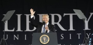 Trump at Liberty University